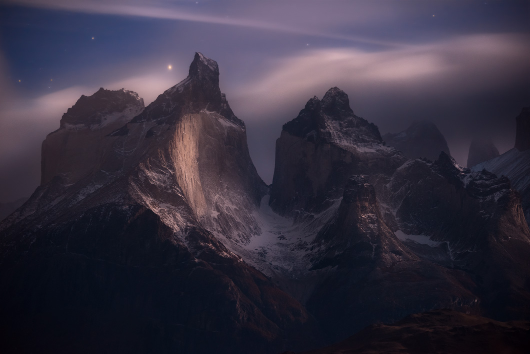 A fine art nature photograph of the mountains of Torres Del Paine in Chile by Bryce Mironuck