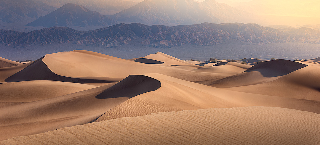 A fine art photograph of the sand dunes in Death Valley, California - Similar to the work of Peter Lik